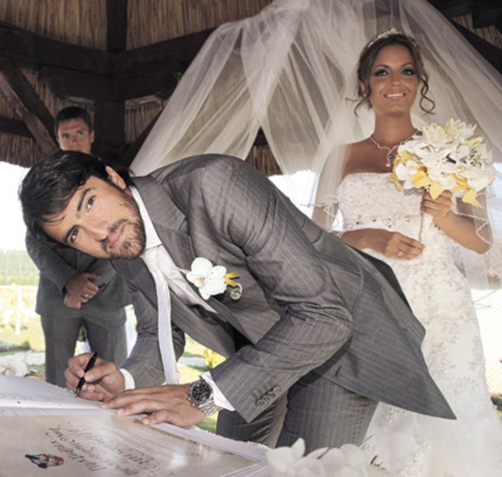Janko Tipsarevic Wedding