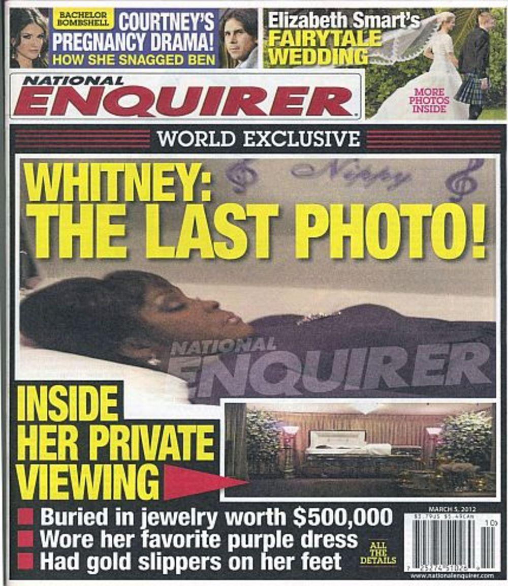 Whitney Houston death: latest reaction - Telegraph - The Telegraph Whitney houston open casket photos review
