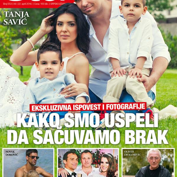 Tanja Savić: Kako smo uspeli da sačuvamo brak
