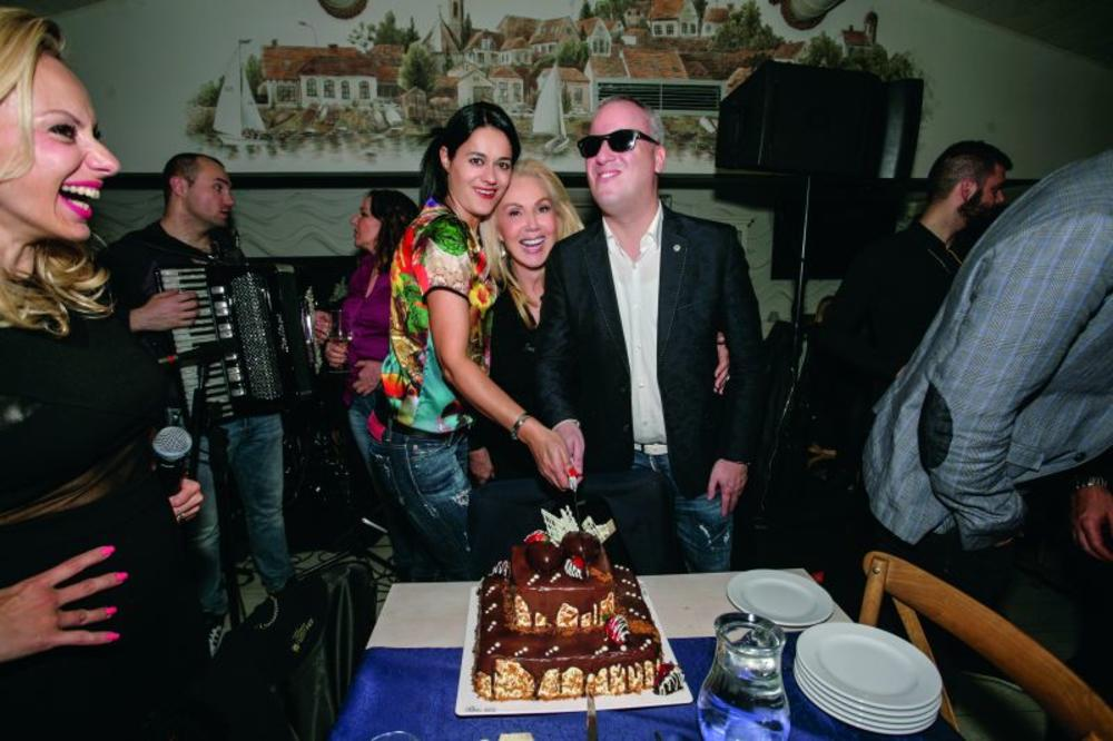 Dragana Mirković organizovala proslavu rođendana za Žan Klod