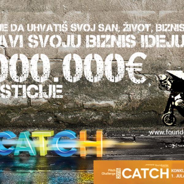 Prijavljivanje projekata za Pitch Challenge – CATCH ulazi u poslednju fazu!