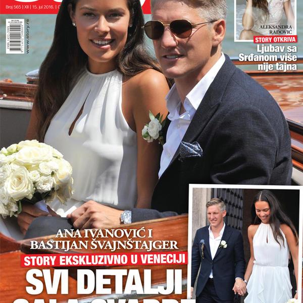 Ana Ivanović i Bastijan Švajnštajger: Svi detalji gala svadbe