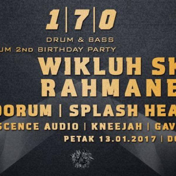 Raznovrsan drum & bass program je pripremljen: Pandorum proslavlja drugi rođendan!