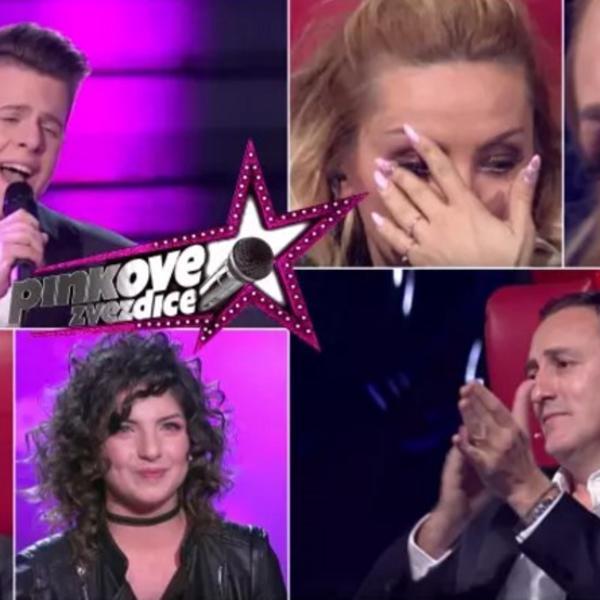 Ceo žiri u suzama: Nastup Pinkove zvezdice rasplakao čitav studio