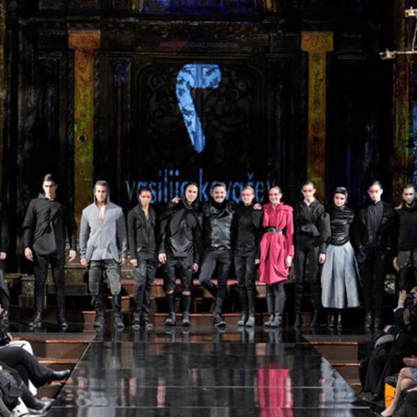 Vasilije Kovačev oduševio svetske zvezde na Nedelji mode u Njujorku