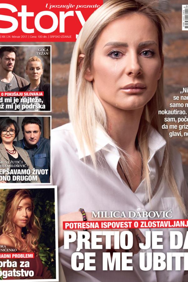 Milica Dabović: Pretio je da će me ubiti!