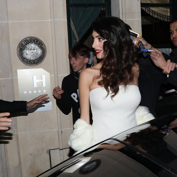 Elegantna trudnica, Amal: Glavni razlog zašto NIKO ove večeri nije ni registrovao Džordža Klunija (FOTO)