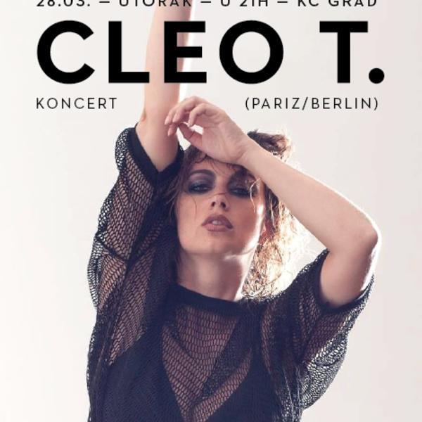 Neodoljiva Cleo T: Francuska elektropop diva u Beogradu (FOTO)