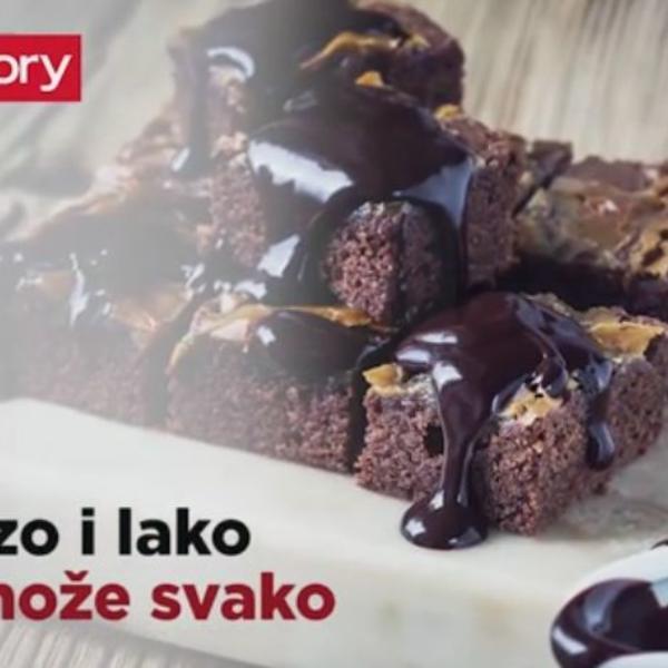 Čokoladna fantazija koja se topi u ustima: Kolač koji se BRZO sprema, a još BRŽE pojede (VIDEO)