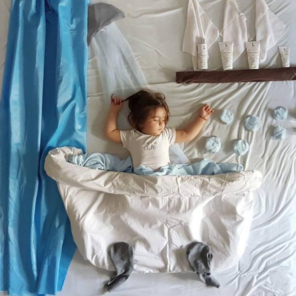 Ceo svet oduševljen kreativnošću naše sugrađanke: Dok mali Marko spava, mama za njega stvara najčudesniju bajku (FOTO)