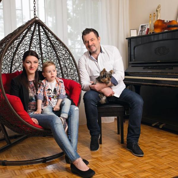 Ksenija i Saša Milošević: Porodično gnezdo u bojama talenta