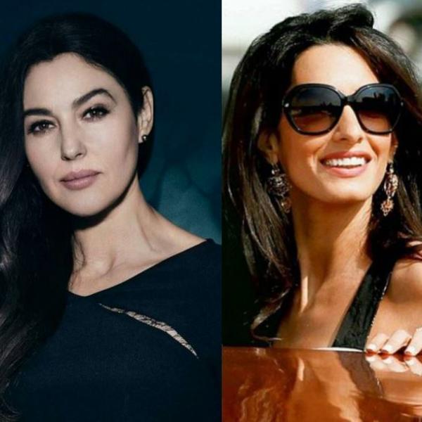 Njihov stil je specifičan i teško se kopira: Monika Beluči i Amal Kluni kao kraljice stila (FOTO)