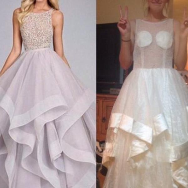 Naručile su maturske haljine preko interneta - ono što im je stiglo ne bi obukle ni za pijacu (FOTO)