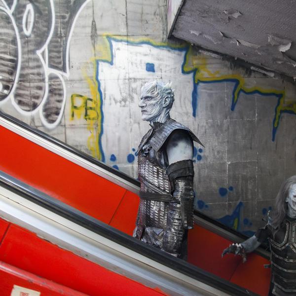 Zima je stigla: Tuđini iz Igre prestola na ulicama Beograda (FOTO)