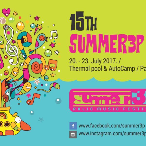 Najatraktivniji muzički program uz 17 izvođača: Počinje jubilarni 15. Summer3p festival