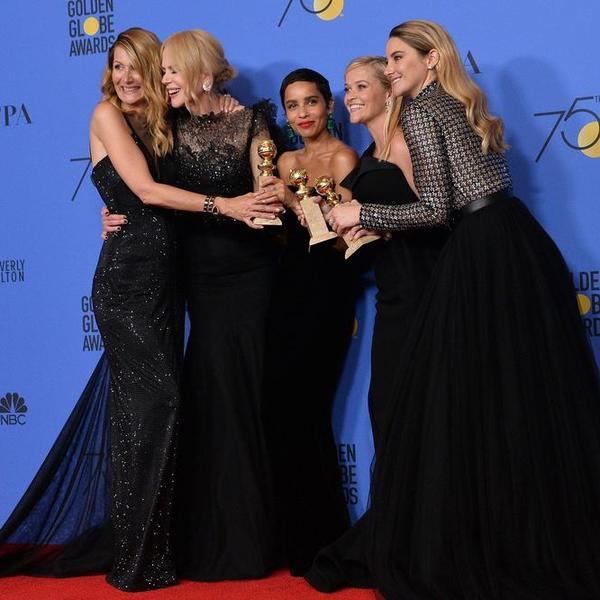 Obučene u crno poslale su snažnu poruku svetu: Nikol Kidman stoji iza svih žena koje su pretrpele nasilje (FOTO)