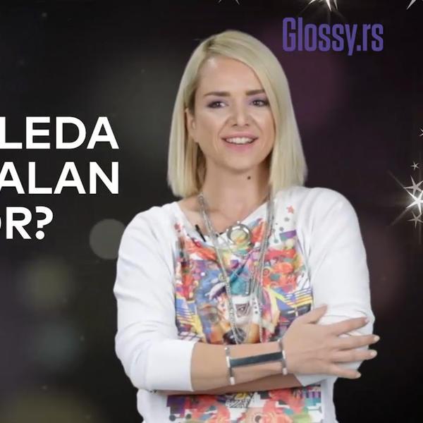 (VIDEO) Glossy lično božićni specijal