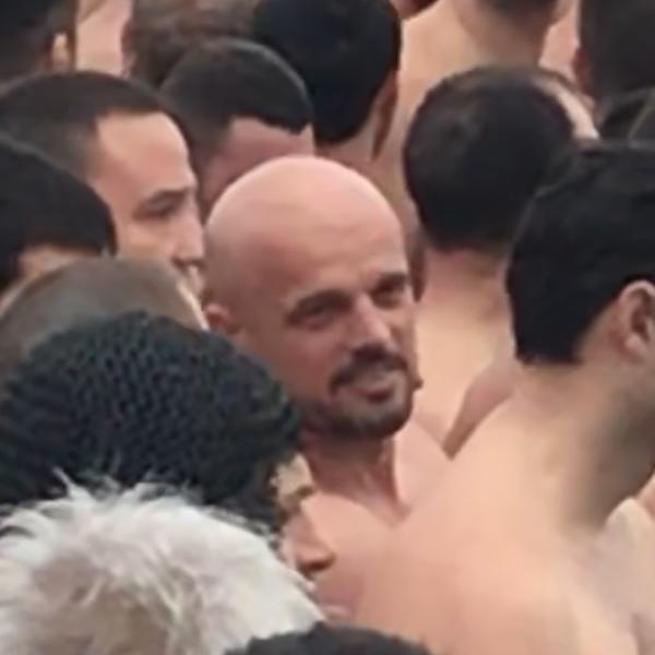 Spartanac plivao za Časni krst: Mnogo je dobar osećaj biti među ljudima koji poštuju tradiciju