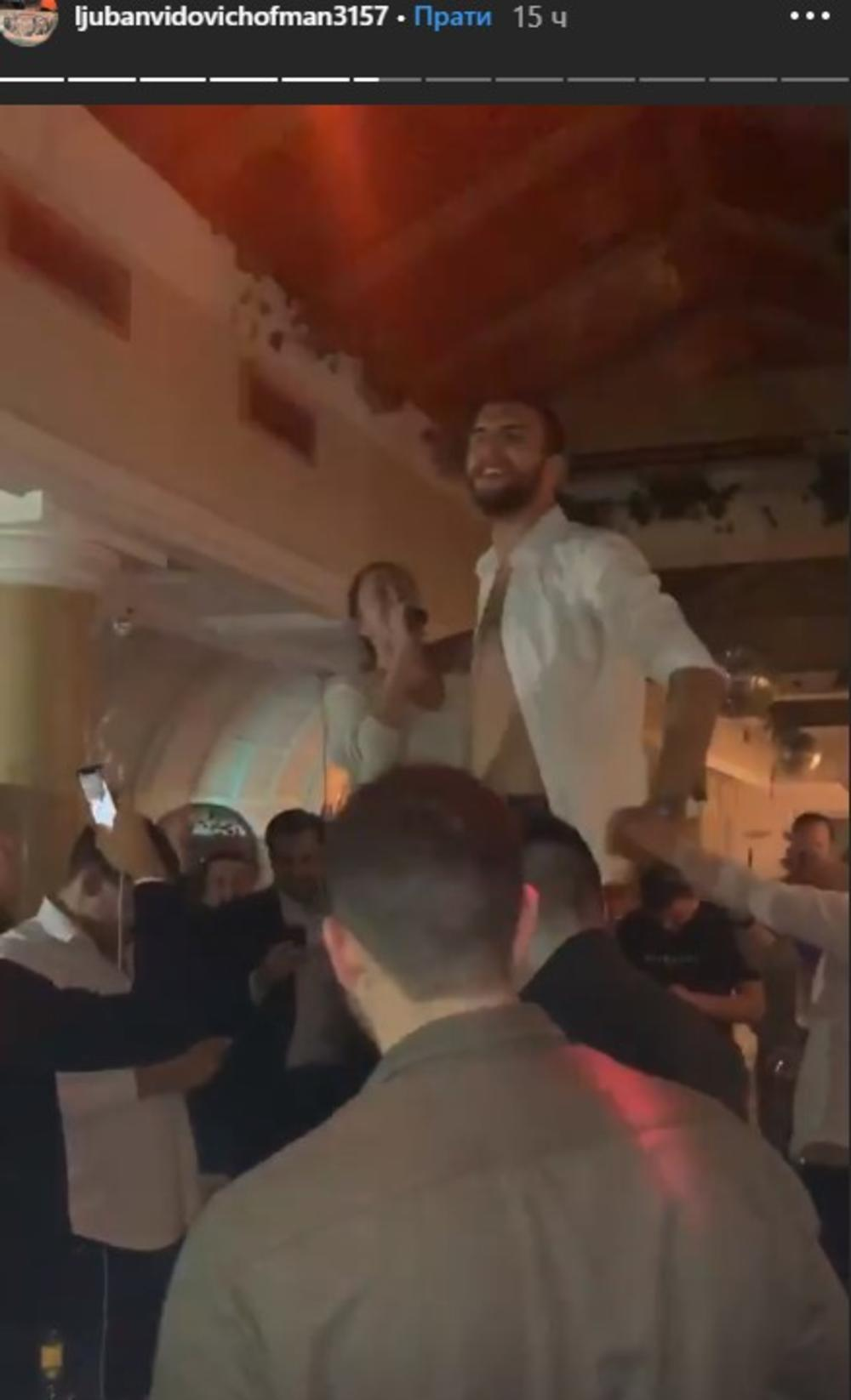 <p>Sin <strong>Svetlane Ražnatović</strong> će tokom vikenda koji je pred nama stati na ludi kamen, pa je bio red da uživa u poslednjem velikom provodu pred venčanje.</p>