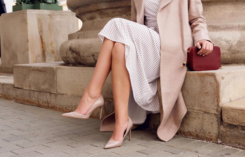 moda, elegancija, Elegantno, haljina, salonke, visoke štikle, Štikle