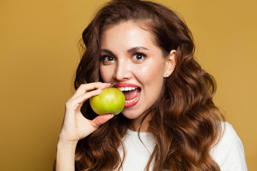 jabuka, beli zubi, Zdrav život