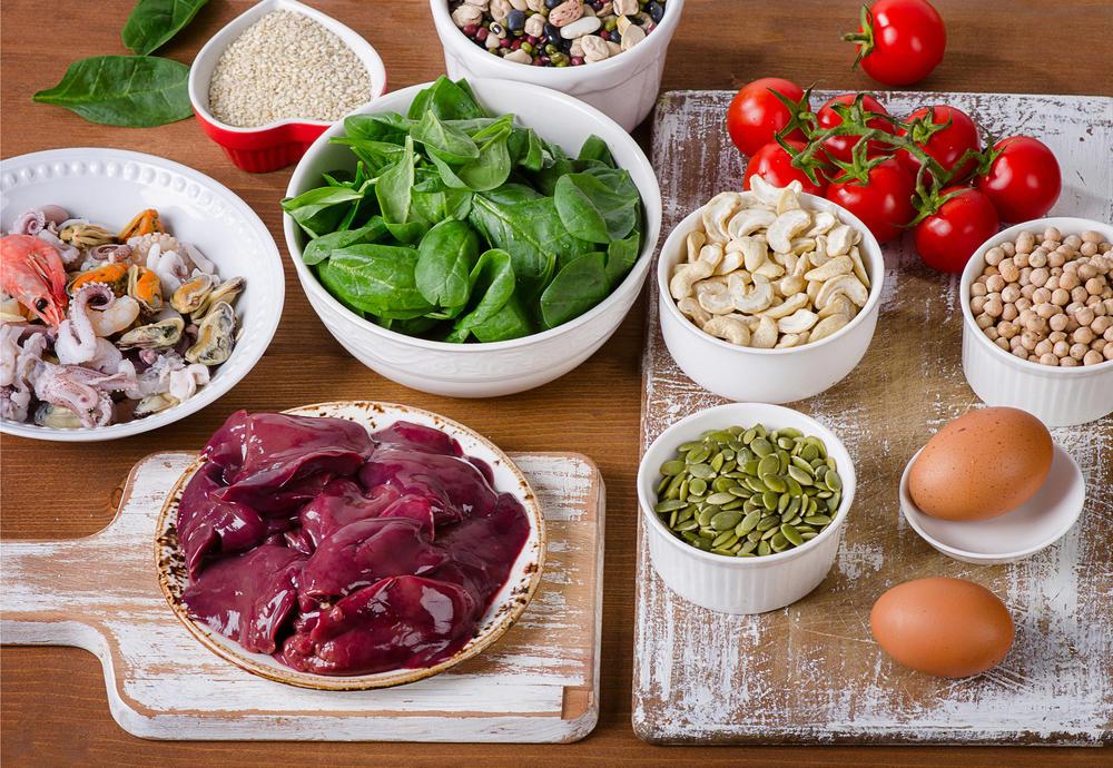 gvožđe, Gvožđe u ishrani, Hrana bogata gvožđem, Namirnice koje sadrže gvožđe, Fe