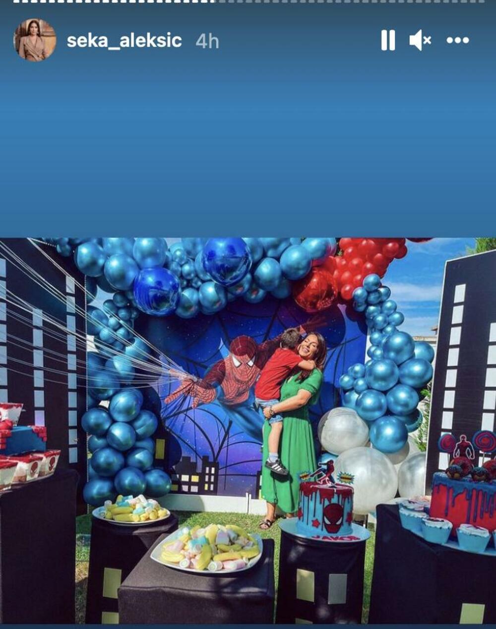 <p>Od torti, animatora do dekoracije sve je bilou stilu jednog superheroja</p>