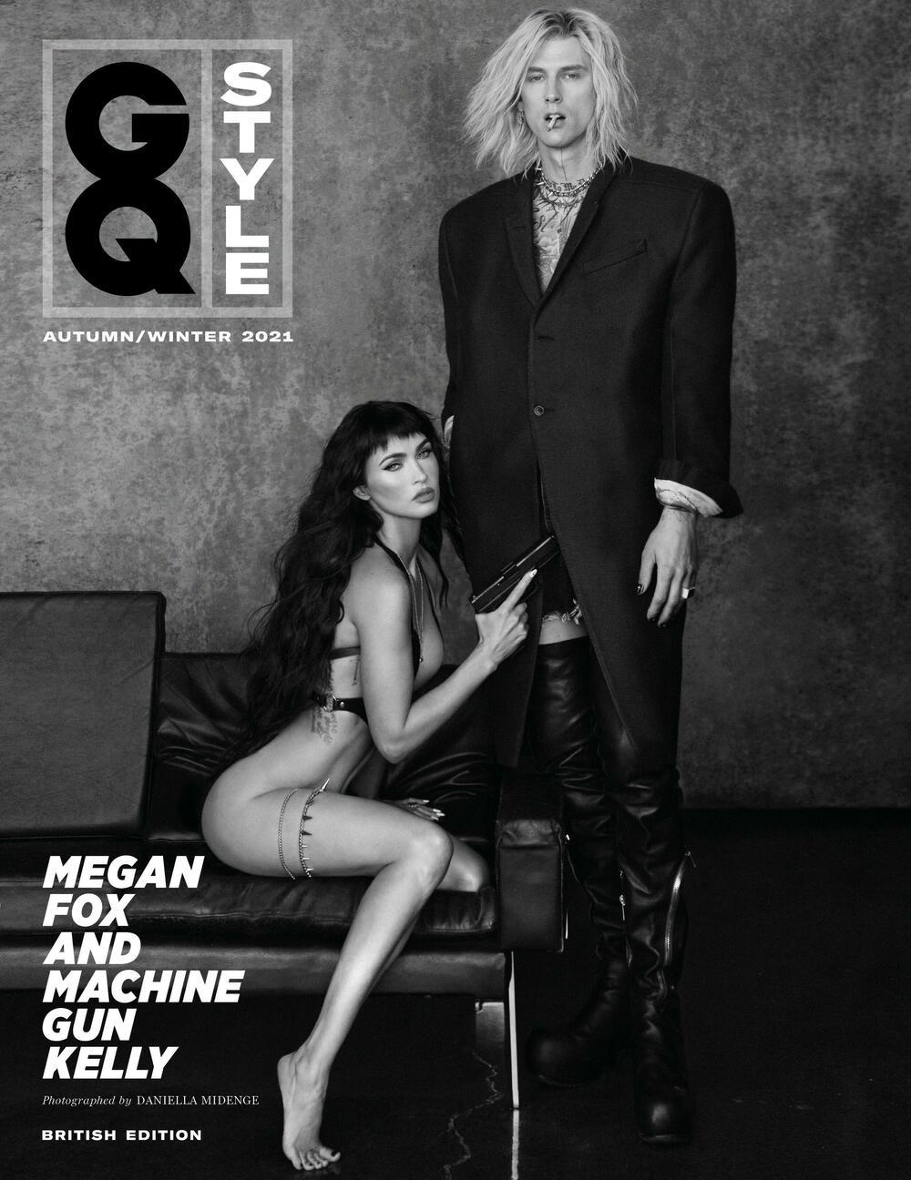 Megan Fox, Megan Foks, Mašin Gan Keli