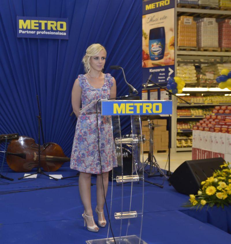 dušica spasi� otvorila tre�i metro cash amp carry poznati